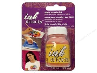 Decoart Ink Effects Fabric Transfer Ink 1 oz. Yellow
