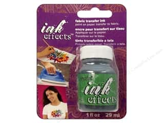 Decoart Ink Effects Fabric Transfer Ink 1 oz. Green