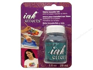 Decoart Ink Effects Fabric Transfer Ink 1 oz. Turquoise