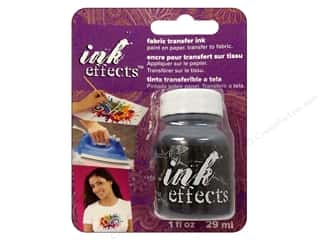 Decoart Ink Effects Fabric Transfer Ink 1 oz. Black