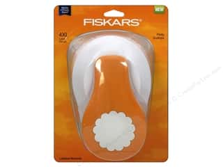 Clearance Uchida Tri-Corner 3 in 1 Punch: Fiskars Lever Punch 4XL Pretty Scallops 3 1/2 in.