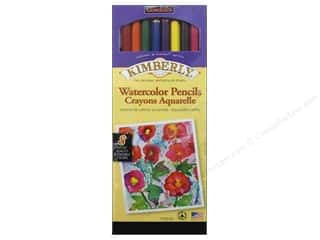 General's Kimberly Water Color Pencil 8 pc