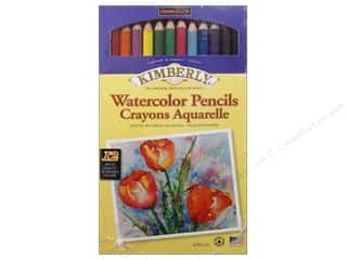 colored pencils: General's Kimberly Water Color Pencil 12 pc