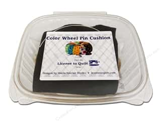 Projects & Kits: License To Quilt Kit Color Wheel Pin Cushion