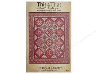 books & patterns: This & That A Day In Giverny Block A Month Pattern