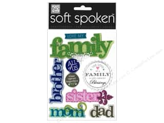 Me & My Big Ideas Soft Spoken Stickers Love My Family