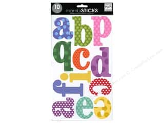 Me & My Big Ideas Sticks Alphabet Stickers Century Dots Primary