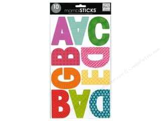 stickers: Me & My Big Ideas Sticks Alphabet Stickers Garde Tiny Prints