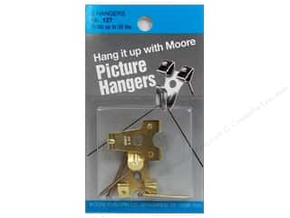 Moore Picture Hangers With Nail 50 lb. 2 pc.
