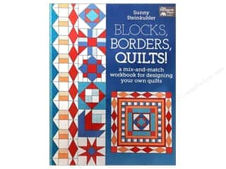 Pattern $4-$6 Clearance: That Patchwork Place Blocks, Borders, Quilts Book by Sunny Steinkuhler