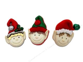 Jesse James Dress It Up Embellishments Holiday Elves