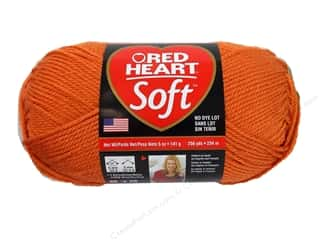 Red Heart Soft Yarn 256 yd. #4422 Tangerine