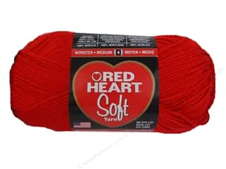yarn & needlework: Red Heart Soft Yarn 256 yd. #5142 Cherry Red