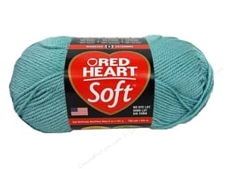 yarn & needlework: Red Heart Soft Yarn 256 yd. #9520 Seafoam