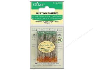 sewing & quilting: Clover Quilting Pins Fine 100 pc.