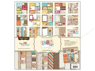 Simple Stories 12 x 12 in. Collection Kit SN@P! Life