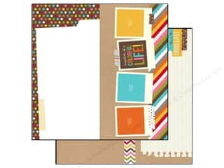 Simple Stories: Simple Stories 12 x 12 in. Paper SN@P! Life Elements (25 sheets)
