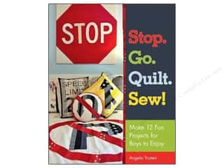 Sewing & Quilting: Stash By C&T Stop Go Quilt Sew Book