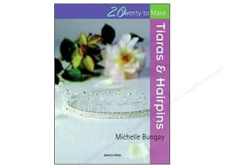 beading & jewelry making supplies: Search Press Twenty To Make Tiaras & Hairpins Book
