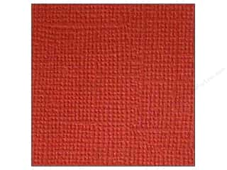 paper red: Doodlebug 12 x 12 in. Paper Textured Ruby (25 sheets)