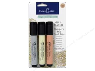 weekly specials Stamping: FaberCastell Stamper's Big Brush Pen Mix & Match Set Subtle