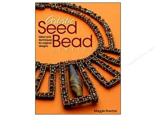 beading & jewelry making supplies: Kalmbach Publishing Co. Artistic Seed Bead Jewelry Book