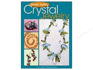 beading & jewelry making supplies: Kalmbach Publishing Co. Simply Stylish Crystal Jewelry Book