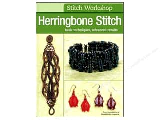 beading & jewelry making supplies: Kalmbach Publishing Co. Stitch Workshop Herringbone Stitch Book