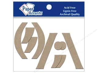 Paper Accents Chipboard Punctuation (,)/""\   4 in. 2 pc. Kraft320|240|?|70c76070178cae00cccb7269766c5607|False|UNLIKELY|0.3822275400161743