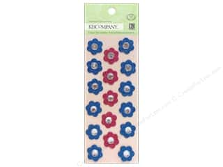 theme stickers  floral: K&Company Adhesive Chipboard Susan Winget Floral Gems