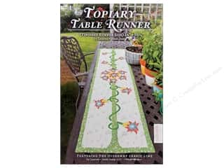 Table Runners / Kitchen Linen Patterns: Lauren & Jessi Jung Topiary Table Runner Pattern