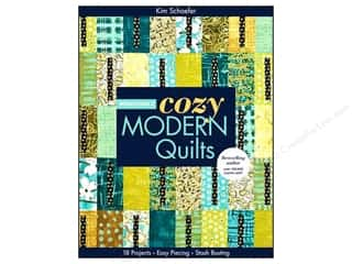 C&T Publishing Bright & Bold Cozy Modern Quilts Book by Kim Schaefer