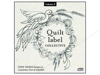 Computer Software / CD / DVD: C&T Publishing Quilt Label Collective CD - Volume 2