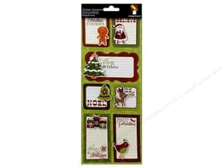 theme stickers  holidays: Imaginisce Stickers Christmas Cheer Stacker Happy Holidays