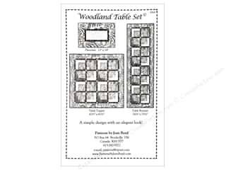 Jean Boyd Woodland Table Set Pattern