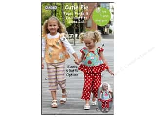 Olive Ann Cutie Pie Tops Pants & Doll Outfit Pattern