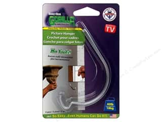 Monkey Hook Picture Hanger 2 pc. Gorilla Grade