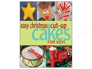 Gibbs-Smith Easy Christmas Cut Up Cakes For Kids Book