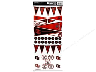 scrapbooking & paper crafts: Sports Solution Sticker Pennant Oregon State