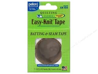 "Pellon Easy-Knit Batting & Seam Tape 1.5""x 10yd White"