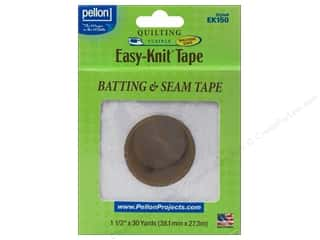 "Pellon Easy-Knit Batting & Seam Tape 1.5""x 30yd White"