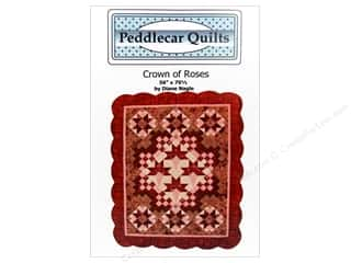Patterns Clearance: Peddlecar Quilts Crown Of Roses Pattern