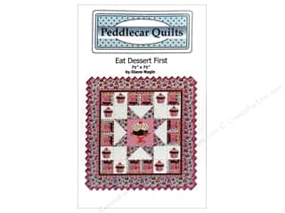 books & patterns: Peddlecar Quilts Eat Dessert First Pattern