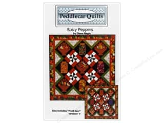 Peddlecar Quilts Spicy Peppers Pattern