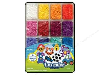 beading & jewelry making supplies: Perler Bead Tray 4000 pc. Fun Colors