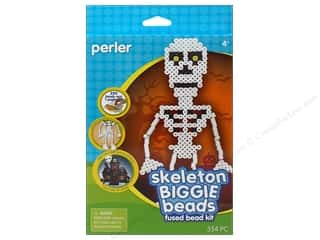 Weekly Specials Halloween Stickers: Perler Fused Bead Kit Biggie Skeleton