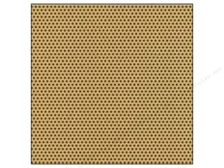 Canvas Corp 12 x 12 in. Paper Chocolate & Kraft Mini Dot