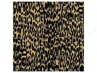 Canvas Home Basics: Canvas Corp 12 x 12 in. Paper Black & Kraft Leopard (15 sheets)