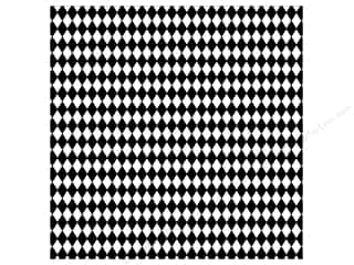 Canvas Corp 12 x 12 in. Paper Black & White Diamonds
