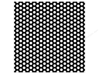 Canvas Corp 12 x 12 in. Paper Black & White Dot Reverse